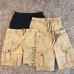 Men's cargo shorts Lot of 4
